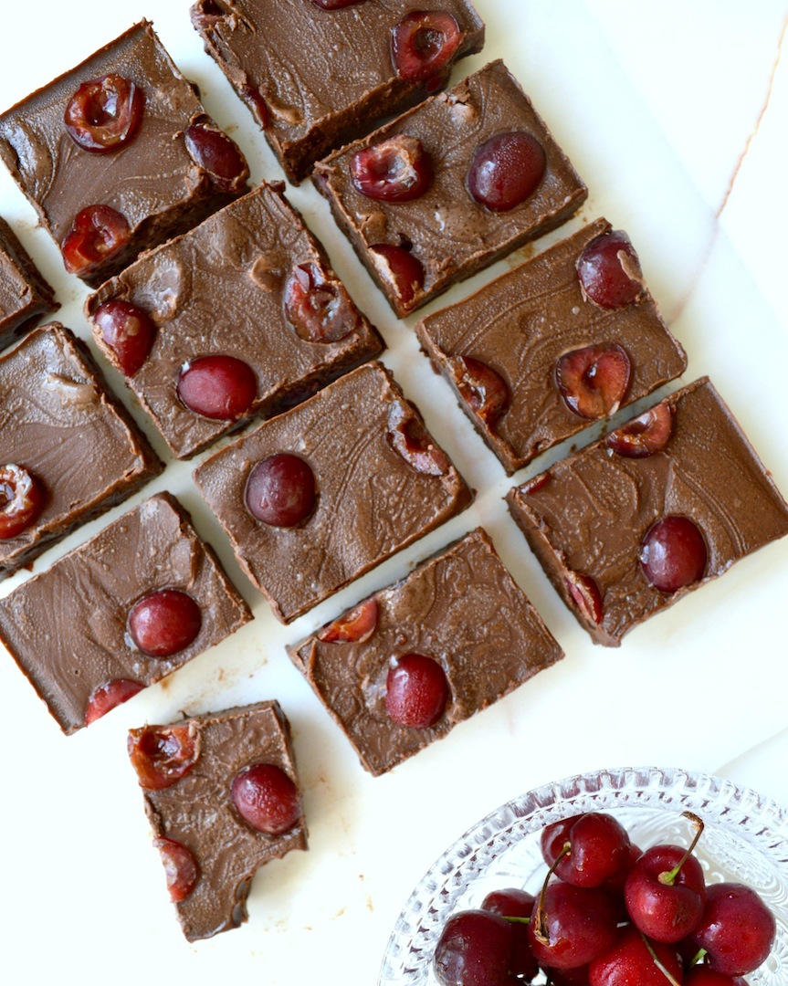 Cherry Chocolate Fudge