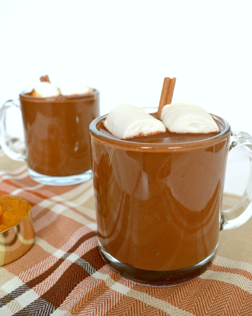 Pumpkin  Chai  Hot  Chocolate  (Vegan) by Plantbased Baker